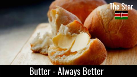 BUTTER – Always Better